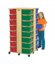 Jonti-Craft 32 Tub Tower Cubbie Storage Unit (Tubs Not Included)