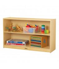 Jonti-Craft Low Straight-Shelf Mobile Classroom Storage Unit
