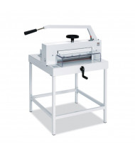 MBM Triumph Stand for 4705 Paper Cutters (Shown With Separate Paper Cutter)