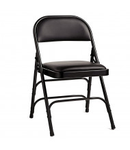 Samsonite 2800 Series Vinyl Folding Chair, 4-Pack (Shown in Black)
