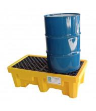 Ultratech Spill Pallets, 66 Gallons (2-drum model)