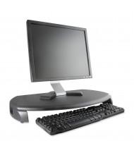 "Kantek 3"" H LCD Monitor Riser Stand with Keyboard Storage, Black"