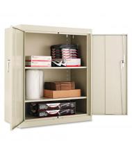 """Alera CM4218PY 36"""" W x 18"""" D x 42"""" H Storage Cabinet in Putty, Assembled"""
