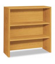 "HON 36"" 2-Shelf Bookcase Hutch, Harvest"