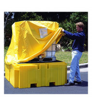 Ultratech 1159 IBC Intermediate Bulk Container Spill Pallet Plus Pullover Cover