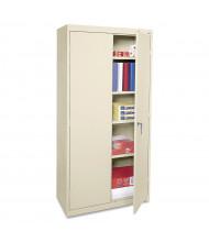 """Alera CME7218PY 36"""" W x 18"""" D x 72"""" H Storage Cabinet in Putty, Assembled"""