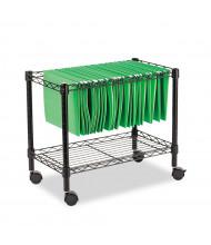 Alera Single-Tier Rolling File Cart