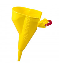 Justrite 11202Y Polypropylene Funnel for Type I Steel Safety Cans