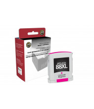 Clover Remanufactured High Yield Magenta Ink Cartridge for HP C9392AN (HP 88XL)
