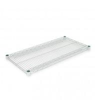 "Alera 36"" W x 18"" D 2-Pack Wire Shelves, Silver"