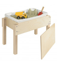"""Wood Designs 18"""" H Petite Sand and Water Table with Lid"""