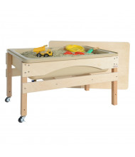 Wood Designs Sand and Water Sensory Center with Lid