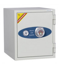 Phoenix 1222 1-Hour Fireproof Olympian Office/Home .87 cu. ft. Dial Combination Safe