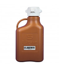 Justrite HDPE Carboys, Ambe (1.3 Gal. Model Shown)