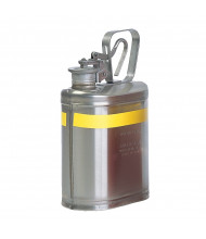 Eagle 1301 Stainless Steel 1 Gallon Laboratory Safety Can