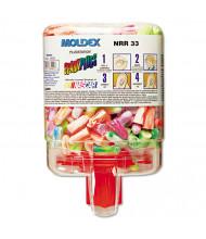 Moldex SparkPlugs PlugStation Cordless Earplugs Dispenser, 33NRR, Assorted, 250 Pairs