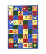 Joy Carpets Around the Block Rectangle Classroom Rug