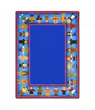 Joy Carpets Children of Many Cultures Classroom Rug