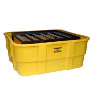 Eagle 400-Gallon Capacity IBC Intermediate Bulk Container Spill Containment Pallet Unit
