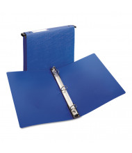 "Avery 1"" Capacity 8-1/2"" x 11"" Round Ring Hanging Non-View Binder, Blue"