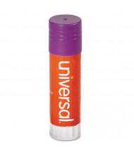 Universal 1.30 oz Permanent Glue Sticks, Purple, 12/Pack