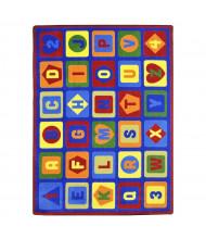 Joy Carpets Lots to Learn Rectangle Classroom Rug