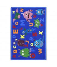 Joy Carpets Monster Mash Rectangle Classroom Rug
