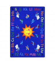 Joy Carpets Alphabet Tweet Classroom Rug