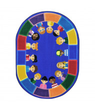 Joy Carpets All of Us Together Classroom Rug