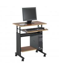 """Safco Muv 1925 29.5"""" W Steel Computer Desk (Shown in Cherry)"""