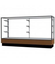 "Waddell Merchandiser 2010-6 Series Store Retail Counter Display Case 72""W x 40""H x 20""D (Shown in Light Oak/Satin Natural)"