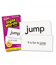 """Trend Sight Words Set 2 Skill Drill Flash Cards, 3-3/8"""" x 6-1/4"""", 97/Pack"""