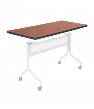 """Safco Impromptu 2065 48"""" W x 24"""" D Training Table Top (Shown in Cherry, Base Sold Separately)"""