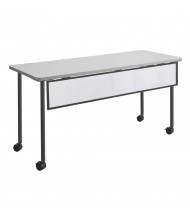 """Safco Impromptu 2076 Modesty Panel for 60"""" W Training Table (Shown in Black)"""