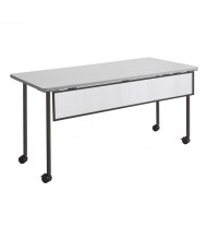 """Safco Impromptu 2077 Modesty Panel for 72"""" W Training Table (Shown in Black)"""