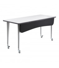 """Safco 2084 Rumba Modesty Panel for 60"""" W Training Table (Shown  with Table, Sold Separately)"""
