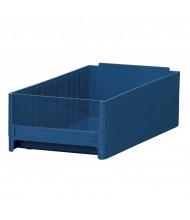 Akro-Mils 19-Series Plastic Storage Bins (Shown in Blue)