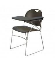 "KFI Seating 2100 14"" x 20"" Tablet Arm Student Chair Desk, Left-Hand (Black)"