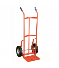"""Wesco 136 Series Two Handle Tapered Body 600-800 lb Load 14"""" Nose Hand Trucks"""