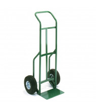 """Wesco Greenline 656 Curved Handle 500-600 lb Load 14"""" Nose Steel Hand Trucks"""