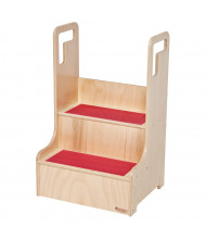 Wood Designs Step-Up-N-Wash (Shown in Red)