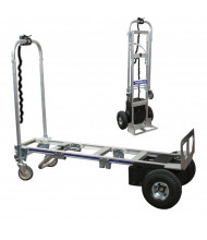 "Wesco Cobra Pro Sr 600/1200 lb Load 12"" x 50.75"" Bed Electric Powered Convertible Hand Truck"