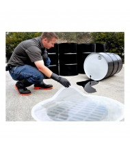 Ultratech Ultra-Drain Clear Circular Polyurethane Seal Covers (example of use)