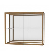 "Waddell Champion 2282 Series Wall Display Case 36""W x 30""H x 14""D (Shown in mirror back/champagne gold)"