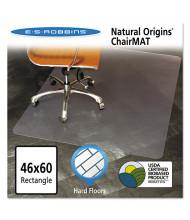 """ES Robbins Hard Floor 46"""" W x 60"""" L, Straight Edge Chair Mat 143022"""
