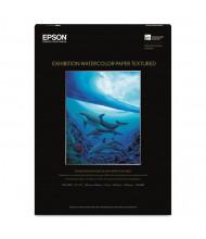"""Epson Exhibition 13"""" x 19"""", 22 mil, 25-Sheets, Matte Watercolor Paper"""