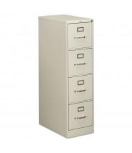 "HON 4-Drawer 25"" Deep Vertical File Cabinet, Letter Size (Shown in Light Grey)"