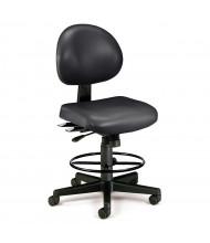 OFM 241-VAM-DK 24/7 24-Hour Anti-Microbial Vinyl Drafting Chair (Shown in Black)