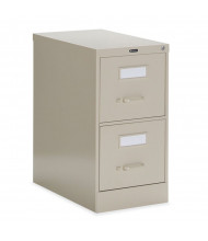 """Global 25-200 2-Drawer 25"""" Deep Vertical File Cabinet, Letter (Shown in Desert Putty)"""