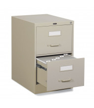 """Global 25-250 2-Drawer 25"""" Deep Vertical File Cabinet, Legal (Shown in Desert Putty)"""